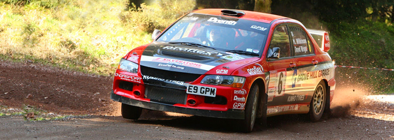 Evo Rally Parts | Specialists in Competition Car Parts for